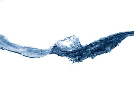 agua splash: Claro, las salpicaduras de agua azul