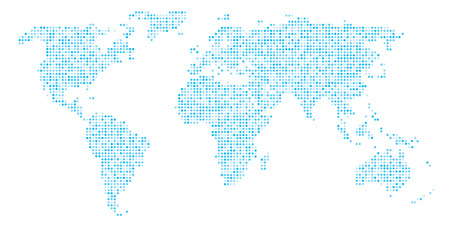 World map dots eps 10 royalty free cliparts vectors and stock world map dots eps 10 vector gumiabroncs Choice Image
