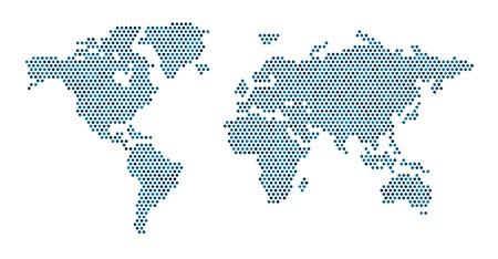 세계지도 개념 (10) EPS