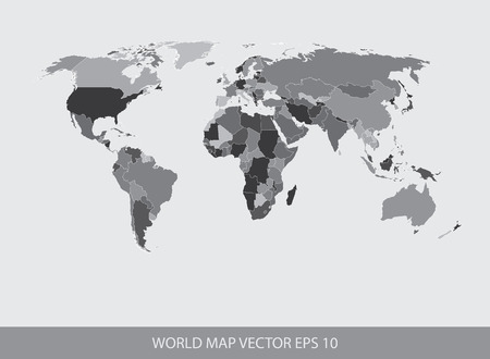 World Map Concept EPS 10