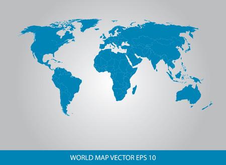 europa: World Map Concept