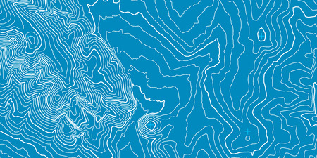 multi layered: Topographic map background concept Illustration