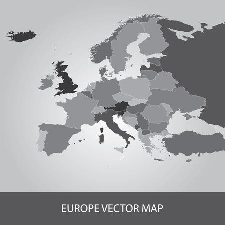 Europe Map 版權商用圖片 - 39074449