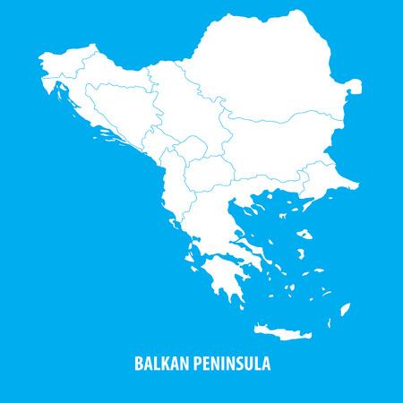 the balkan: Balkan Map