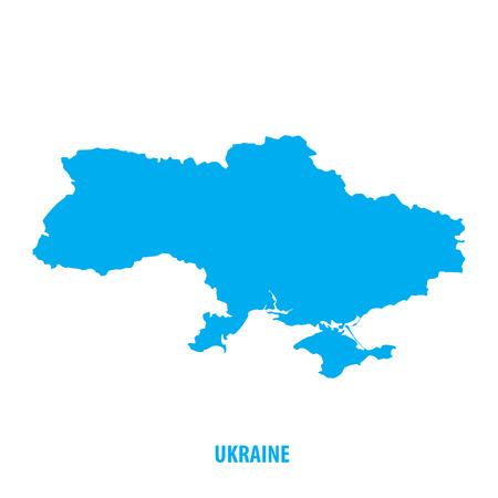 우크라이나지도 일러스트