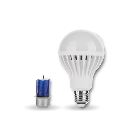 LED Light Bulb with Candle Standard-Bild
