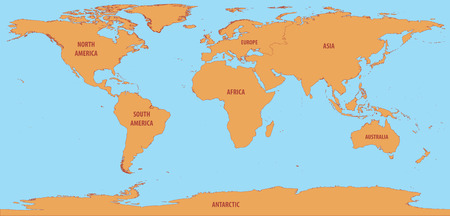 World Map simple