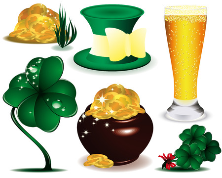 A set of St. Patrick's Day Stock Vector - 6296911