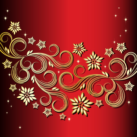 Holiday floral background Stock Vector - 6327017