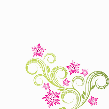 Spring floral background  Stock Vector - 6327025