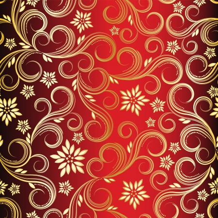 Seamless floral background Stock Vector - 6327029