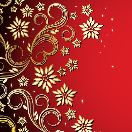 Holiday floral background Stock Vector - 6472703