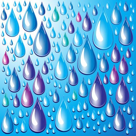 Drops. Vector