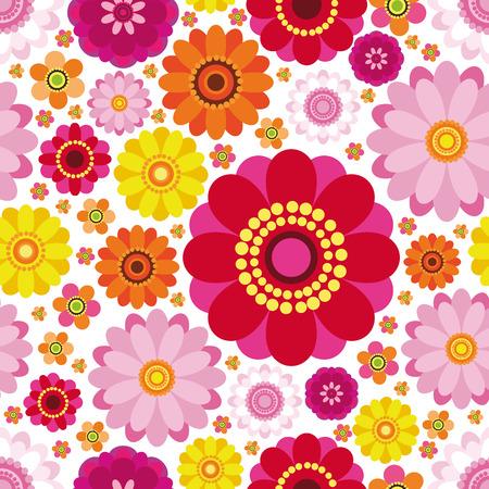 Easter floral background - an illustration for your design project. Illustration