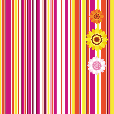 Easter seamless stripe  background - an illustration for your design project. Vector