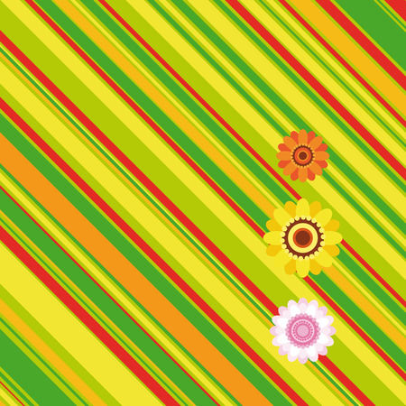 Easter stripe background - an illustration for your design project. Vector