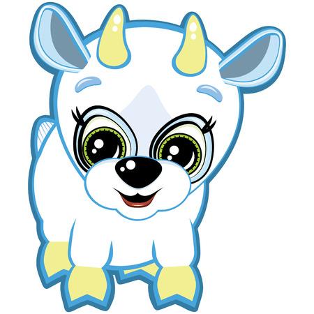 Little Goat Vector