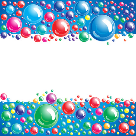 Bubble background Vector