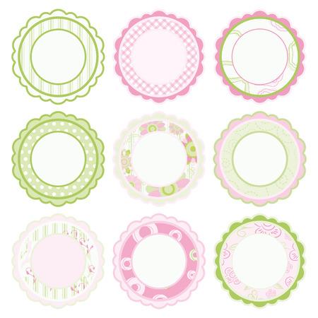 pink cell: Conjunto de marcos  Vectores