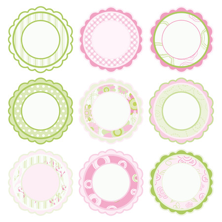 a pink cell: Set of frames