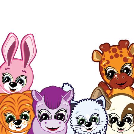 Little Animals Stock Vector - 7000664