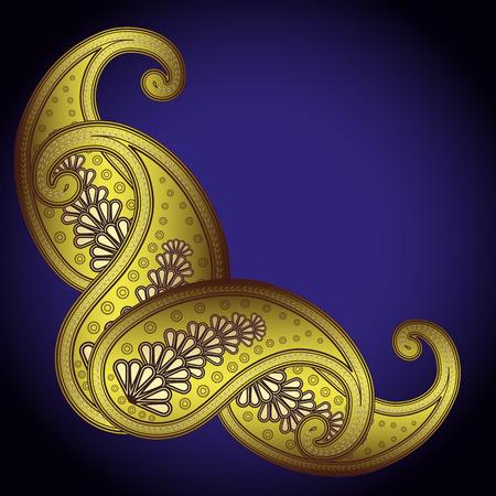 lustre:  paisley - Illustration for your design Illustration