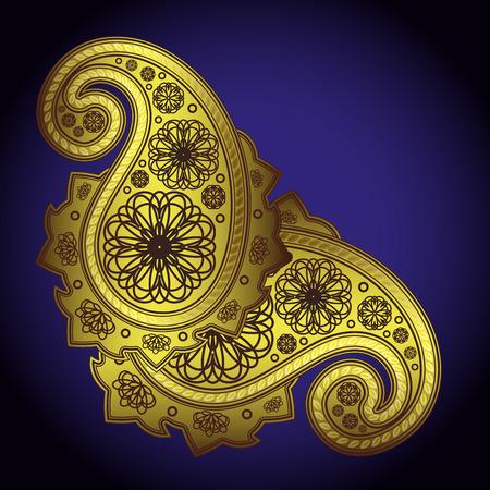 lustre: paisley. - Illustration for your design Illustration