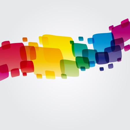 cuadrados: Ilustraci�n de fondo coloridos para su dise�o