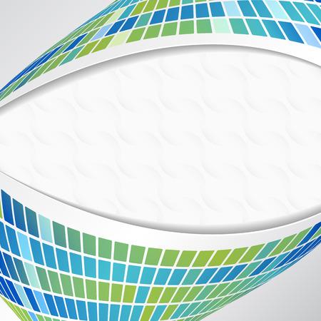 EPS10 - Blue squares lights  background. Illustration for your design Stock Vector - 7085254
