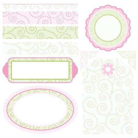 Set of elements for design.  Vector