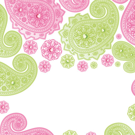 Paisley Designs.Illustration for your design Stock Vector - 7109626