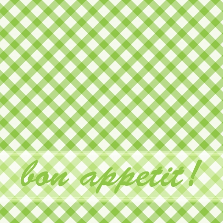 Pattern picnic green. Illustration for your design. Vector