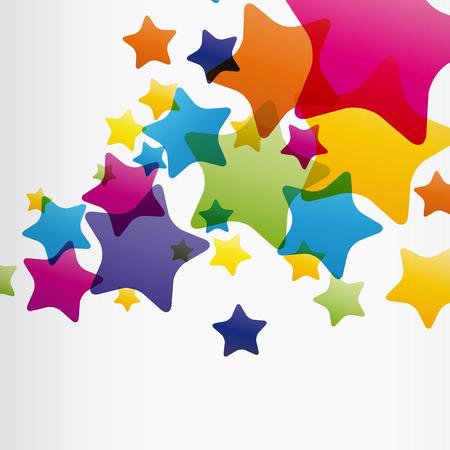 stars and stripes: EPS10 star background Illustration