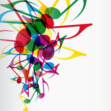 Music Splash Vector
