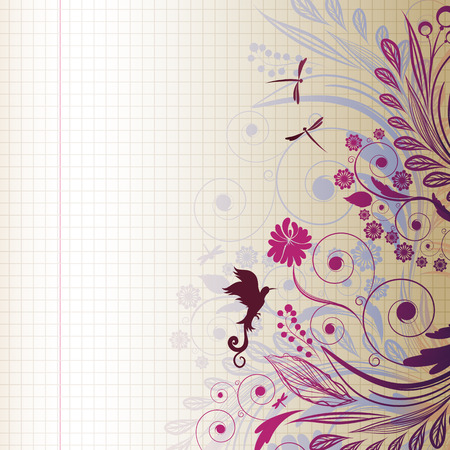 sketch flower Vector