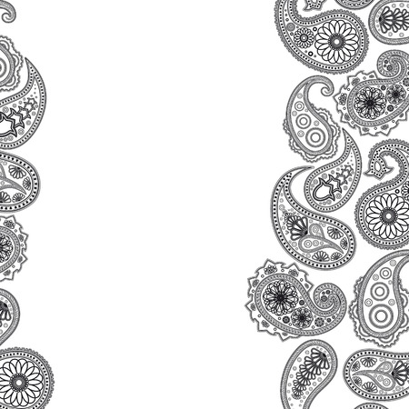 paisley background: Paisley  surface. Abstract background Illustration for your design.