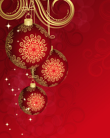 Christmas card. Stock Vector - 7269386