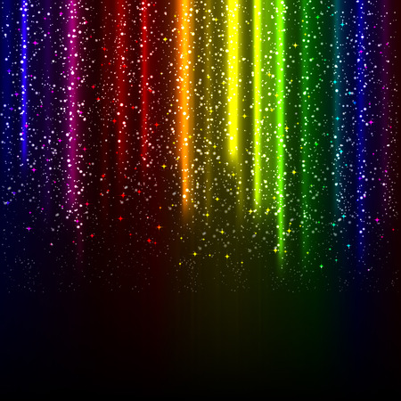 shimmering: abstract glowing background