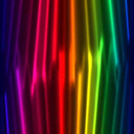 Rainbow curtain background Stock Vector - 7483368