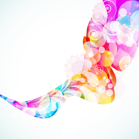 synergie: Abstract Floral Wave