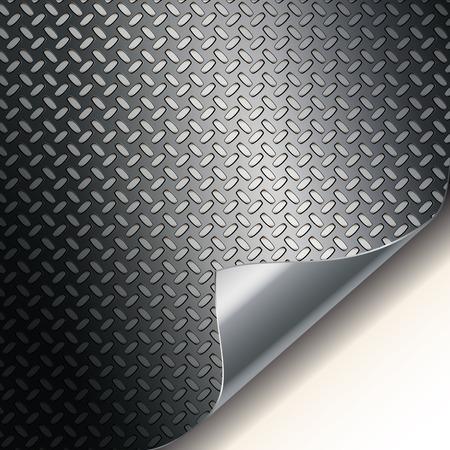 Fluted metal texture  Stock Vector - 8019281