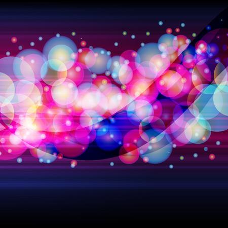neon wallpaper: Ampia striscia � costituito da un luminoso cerchi su uno sfondo scuro.