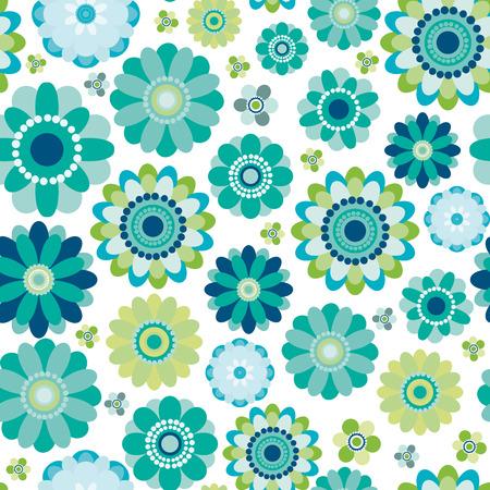 scrapbook paper: Floral seamless pattern
