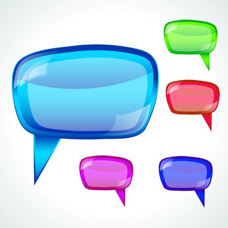 Speech bubble - illustration