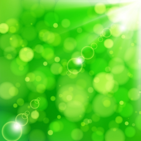 Fresh lime blur background with sunlight spots. Stock Vector - 8715161