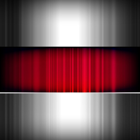 Abstract background, metallic and red Stock Vector - 8806072