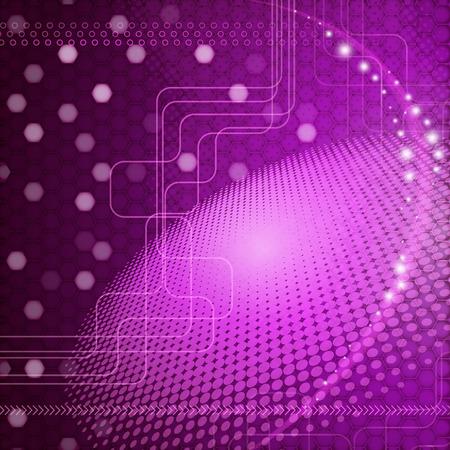vector abstract techno background. Vector