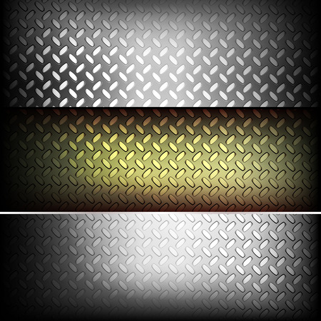 fluted: Fluted metal texture. Vector Illustration