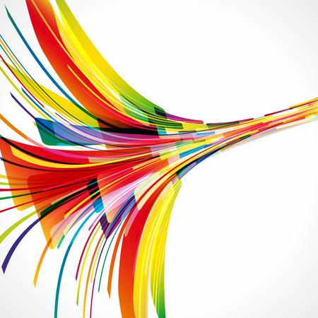 synergie: Mehrfarbigen Hintergrund. Elemente f�r Design. Eps10. Illustration