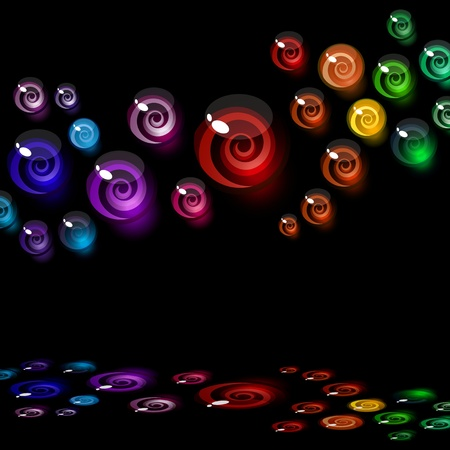 vector background of colorful decorative candy elements. Vector